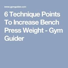 How To Strengthen Bench Press Best 25 Bench Press Weights Ideas On Pinterest Bench Press