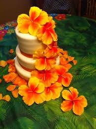 16 best hawaiian wedding cake images on pinterest marriage