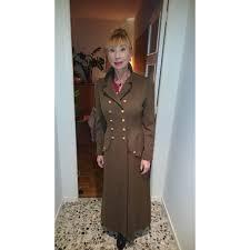 chanel coats outerwear coats outerwear wool khaki ref 5851