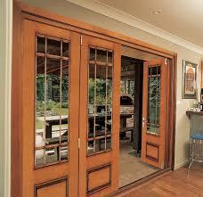Folding Exterior Door Home Design Chic Folding Jeld Wen Exterior Doors With Wooden Trim