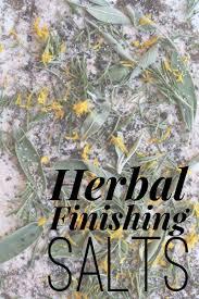 herbal finishing salts u0026 white sage chestnut of herbal