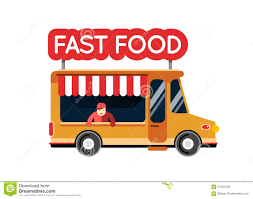 fast food truck city car food hipster truck auto cafe mobile