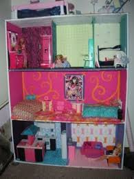 My Homemade Barbie Doll House by My Girls Really Want A Barbie Doll House Have You Seen How