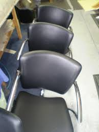 Car Seat Upholstery Repair Melbourne Reupholstered Chairs For A Hairdresser Salon In Melbourne Jaro