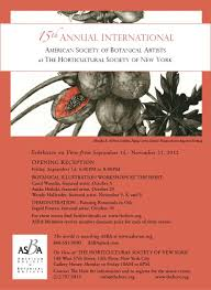botanical sts 15th annual american society of botanical artists