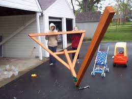 Home Depot Playset Installation The People Must Have Their Dan Miller Skyfort Playset
