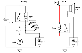 wiring trigger relay only from one specific grounding path