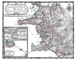 Iceland Map Location William Morris Archive Icelandic Journals