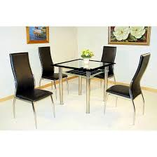 Dining Room Table Glass 100 Best 4 Seater Glass Dining Sets Images On Pinterest Dining