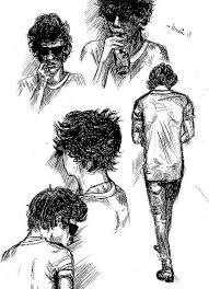 harry styles sketch dump by bmoni on deviantart