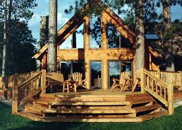 a frame homes classic a frame with porch the log builders