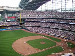 Miller Park Seating Map Milwaukee Wi Miller Park And Lakefront Brewery U2013 Ballparks And