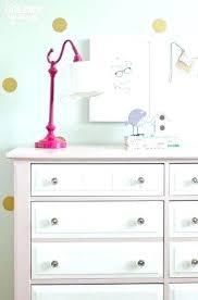 white dresser kids white dresser pink and white chalk painted