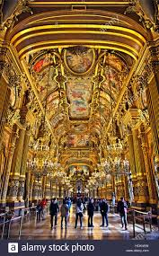 Foyer In Paris The Grand Foyer In Palais Garnier National Opera House Paris