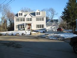 custom colonial style two story modular home with dormers