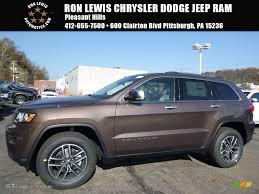 jeep grand cherokee laredo interior 2017 2017 walnut brown metallic jeep grand cherokee limited 4x4