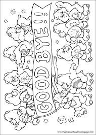 carebears coloring pages free kids