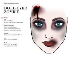 doll eyed zombie how to next year makeup pinterest doll eyes