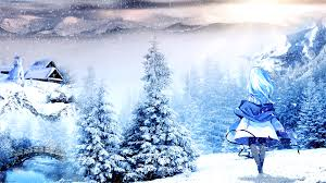 winter anime wallpaper hd anime wallpaper winter 3098 image pictures free download