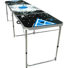 how long is a beer pong table 8 blue black extreme beer pong table pong a long