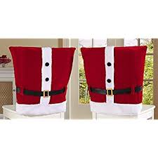 chair covers christmas house 20 santa hat chair covers set of 4