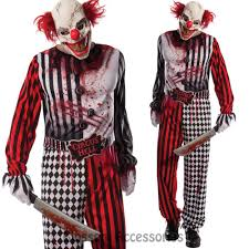 halloween mask for sale cl608 grinning evil clown circus costume halloween horror suit