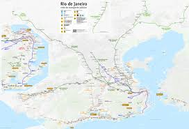 Orange Line Metro Map by Rio De Janeiro Metro Wikipedia