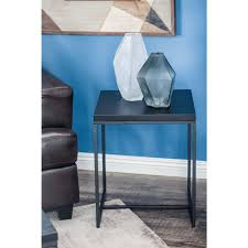 Square Accent Table Gold Accent Tables Living Room Furniture The Home Depot