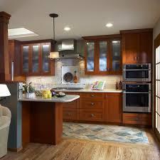 Dark Wood Floor Kitchen by Wood Floor Area Rug Houzz