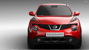 red nissan 2012 front pose of 2011 nissan juke in red wallpaper