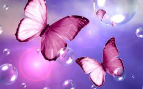 wallpapers of glitter butterflies hd pink bubble wallpapers page 3 of 3 wallpaper wiki