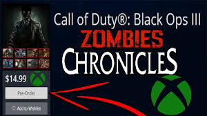 black ops 3 xbox one black friday call of duty black ops 3 zombies chronicles pre order coming to