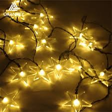 Outdoor Solar Christmas Lights - programmable led big star outdoor solar christmas laster lights