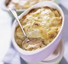 recette micro onde le gratin de pommes de terre au saumon envie