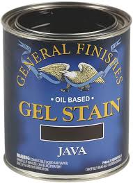 cost to gel stain kitchen cabinets general finishes base gel stain 1 quart java