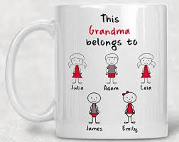 gifts for grandmothers grandmother gift etsy