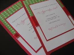 simple make your own christmas party invitations 19 about card