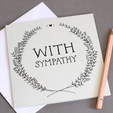 with sympathy card by wolf whistle notonthehighstreet