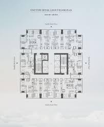 layout floor plan unit floor plans u2013 pollux sky suites