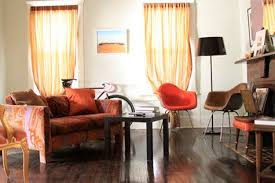 Orange Curtains For Living Room Sneak Peek Best Of Orange U2013 Design Sponge