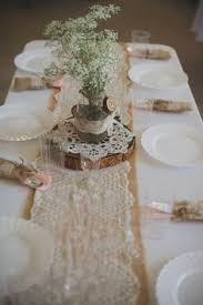 burlap decorations for wedding mint and orange lace wedding lace weddings burlap and weddings