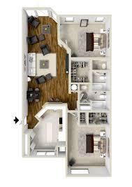 2 bedroom floor plan floor plans serramar apartment homes