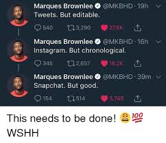 Editable Memes - marques brownlee 19h tweets but editable 540 3290 276k marques