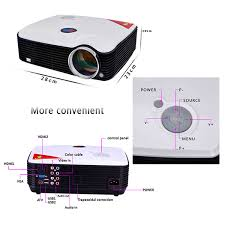 home theater tv vs projector prohome ph5 500 lumens 800 600 led projector home theater hdmi usb