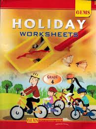 gems holiday worksheet grade 4 9789383607594 by gems paperback