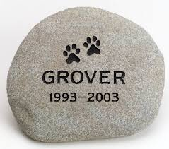 pet memorial markers u0026 plaques large natural river rock