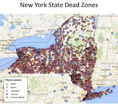 upstate ny map schumer many dead zones in cell coverage in upstate ny