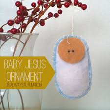 lessons from the nativity baby jesus ornament it s always autumn