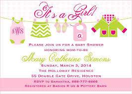 baby shower sayings baby shower sayings girl shower invite wording gallery invitation