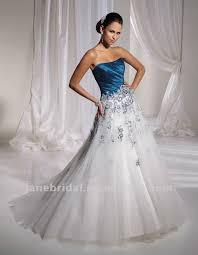 teal wedding dresses teal and white wedding dresses weddingcafeny